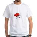 Puzzled? White T-Shirt