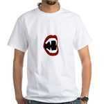 Bite Me! - Fangs White T-Shirt