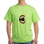 Bite Me! - Fangs Green T-Shirt
