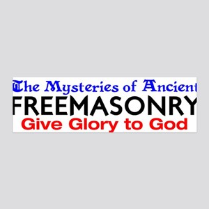 Mysteries of FreeMasonry 36x11 Wall Peel