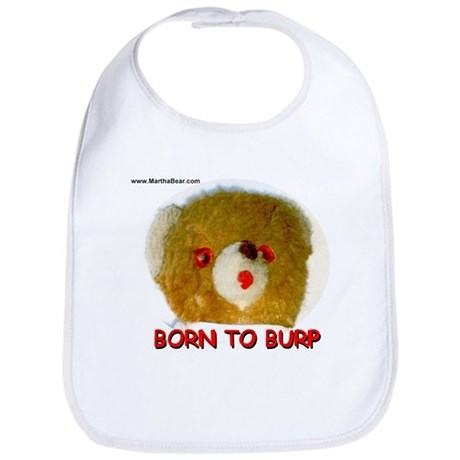 "Teddy O's ""Born to Burp"" Bib"