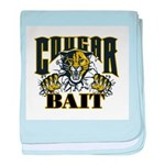 Cougar Bait baby blanket
