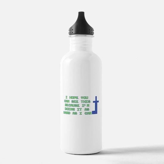 Mooninite Finger Water Bottle