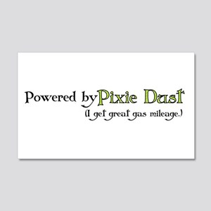 Powered by Pixie Dust 20x12 Wall Peel