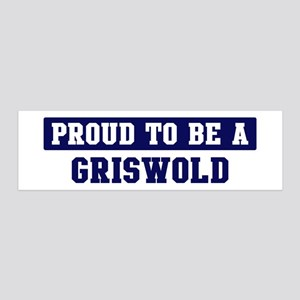 Proud to be Griswold 36x11 Wall Peel