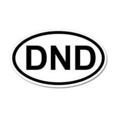 DND 20x12 Oval Wall Peel