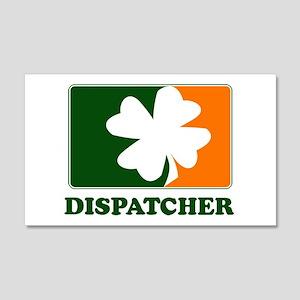 Irish DISPATCHER 20x12 Wall Peel