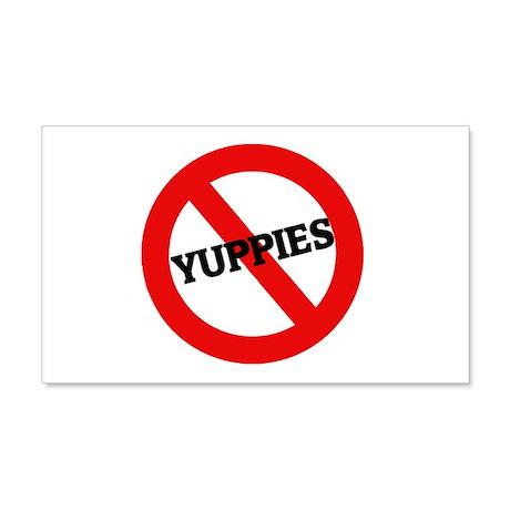 Anti-Yuppies 20x12 Wall Peel