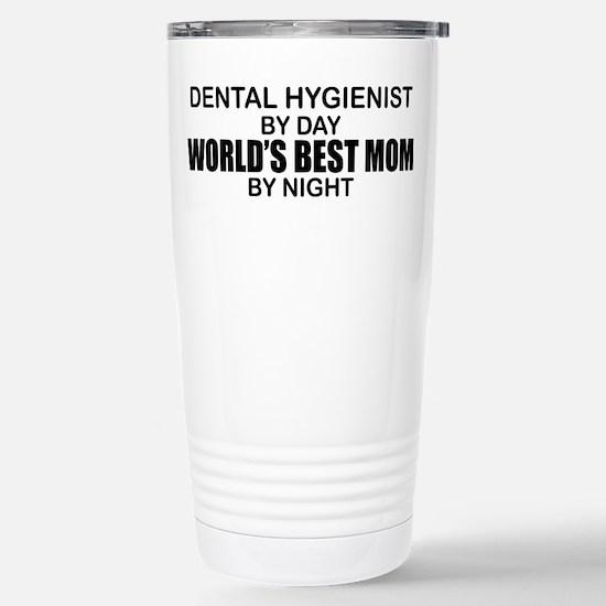 World's Best Mom - Dental Hyg Stainless Steel Trav