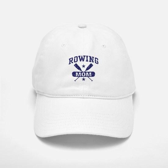 Rowing Mom Baseball Baseball Cap