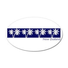 New Zealand 20x12 Oval Wall Peel