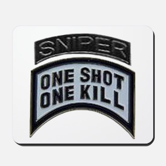 Sniper: One Shot/One Kill Mousepad