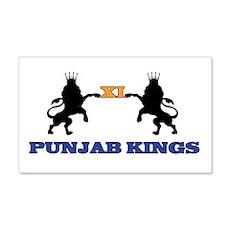 Punjab Kings 11 20x12 Wall Peel
