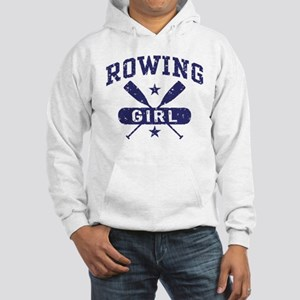 Rowing Girl Hooded Sweatshirt