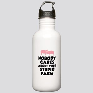 Stupid Farm - Pigs Stainless Water Bottle 1.0L