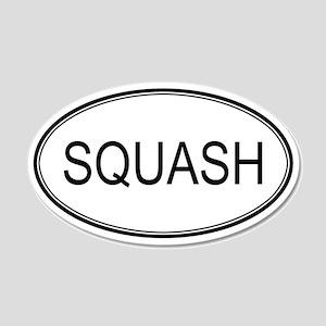 SQUASH (oval) 20x12 Oval Wall Peel