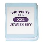 Property of Jewish Boy baby blanket