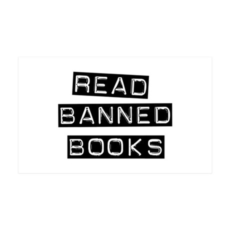 Read Banned Books 35x21 Wall Peel