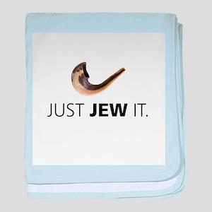 Just Jew It baby blanket