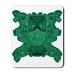 Jade Skull Mousepad