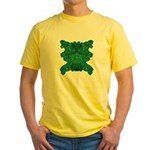 Jade Skull Yellow T-Shirt