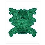 Jade Skull Small Poster