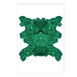 Jade Skull Postcards (Package of 8)