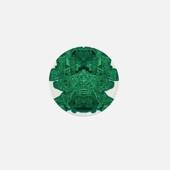 Jade Skull Mini Button