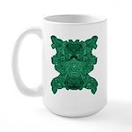 Jade Skull Large Mug