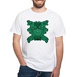 Jade Skull White T-Shirt