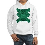 Jade Skull Hooded Sweatshirt