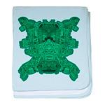 Jade Skull baby blanket