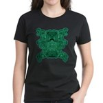Jade Skull Women's Dark T-Shirt