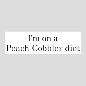 Peach Cobbler diet 36x11 Wall Peel
