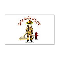 Light Firefighter 20x12 Wall Peel