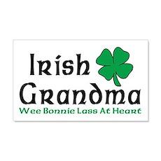 Irish Grandma 20x12 Wall Peel