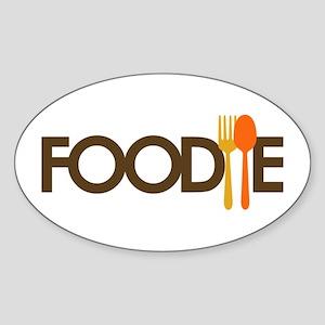 Foodie Sticker (Oval)