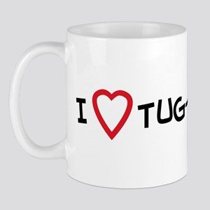 I Love Tug-of-war Mug