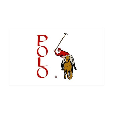 ...Polo... 35x21 Wall Peel