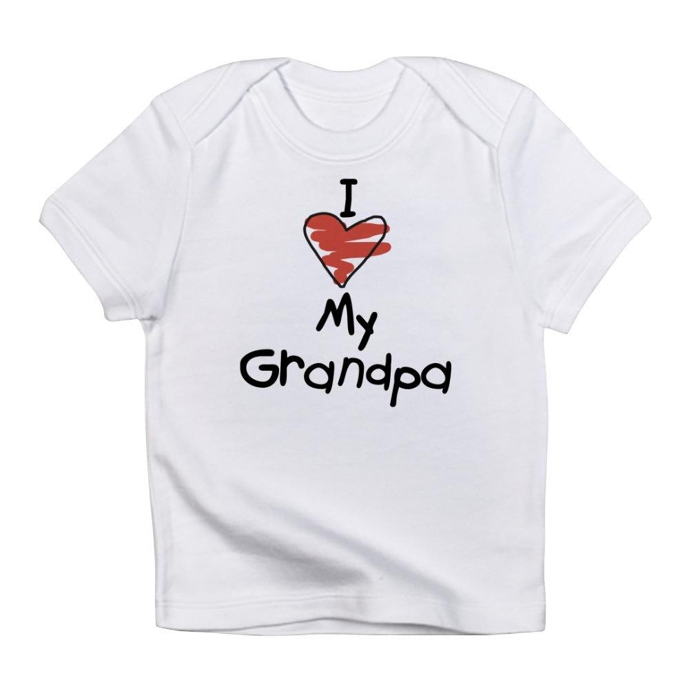 CafePress-I-Love-My-Grandpa-Creeper-Infant-T-Shirt-Baby-T-shirt-494776941 thumbnail 33