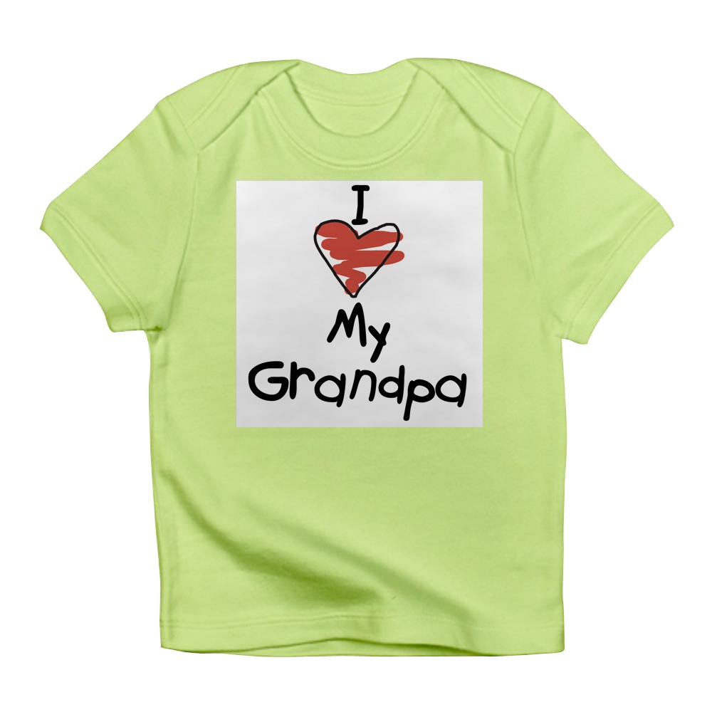 CafePress-I-Love-My-Grandpa-Creeper-Infant-T-Shirt-Baby-T-shirt-494776941 thumbnail 27