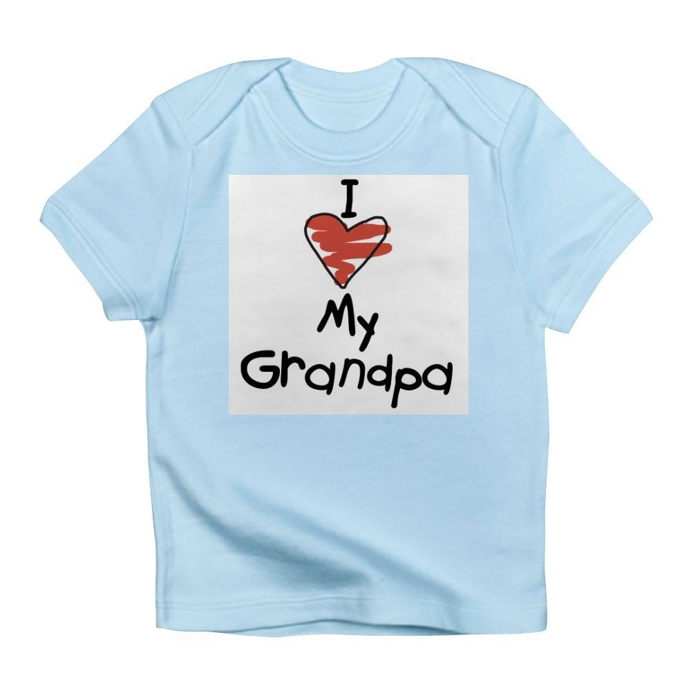 CafePress-I-Love-My-Grandpa-Creeper-Infant-T-Shirt-Baby-T-shirt-494776941 thumbnail 4