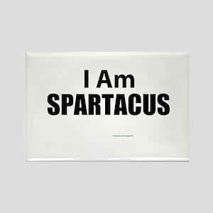 I am Spatacus Rectangle Magnet