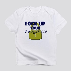 Lock Up Your Daughters Creeper Infant T-Shirt