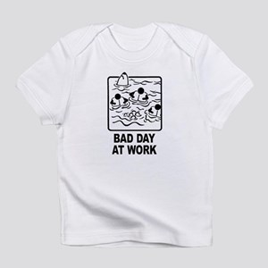 Bad Day at Work Creeper Infant T-Shirt