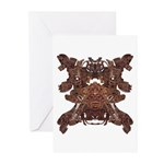 Golden Mask Greeting Cards (Pk of 20)