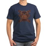 Golden Mask Men's Fitted T-Shirt (dark)