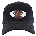 Golden Mask Black Cap