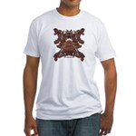 Golden Mask Fitted T-Shirt