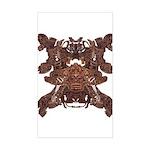 Golden Mask Sticker (Rectangle)